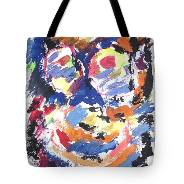 Partial Blackout Tote Bag