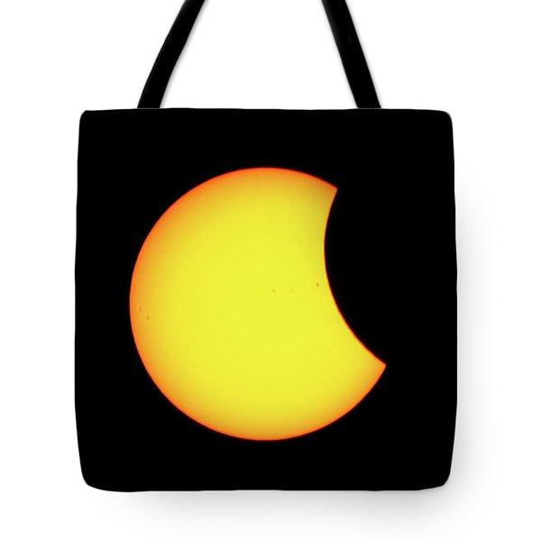 Partial Eclipse 1 Tote Bag