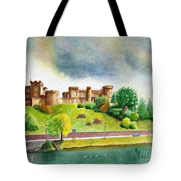 Partly Cloudly Tote Bag