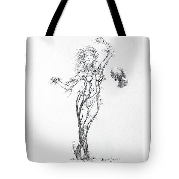 Partners In The Dance Tote Bag by Mark Johnson