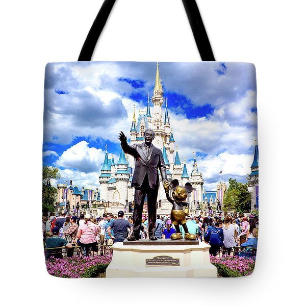 Tote Bag featuring the photograph Partners Two by Greg Fortier