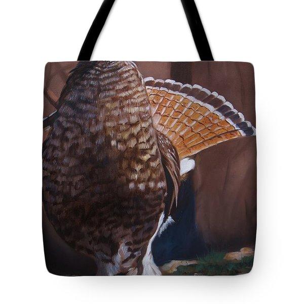Partridge Tote Bag