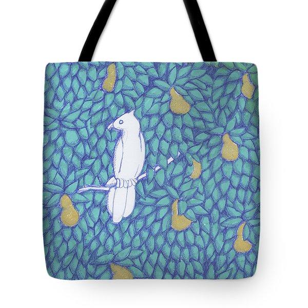 Partridge Pear Tree Tote Bag