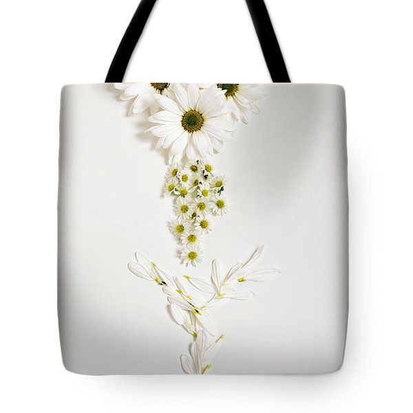 Parts Of A Daisy  Tote Bag
