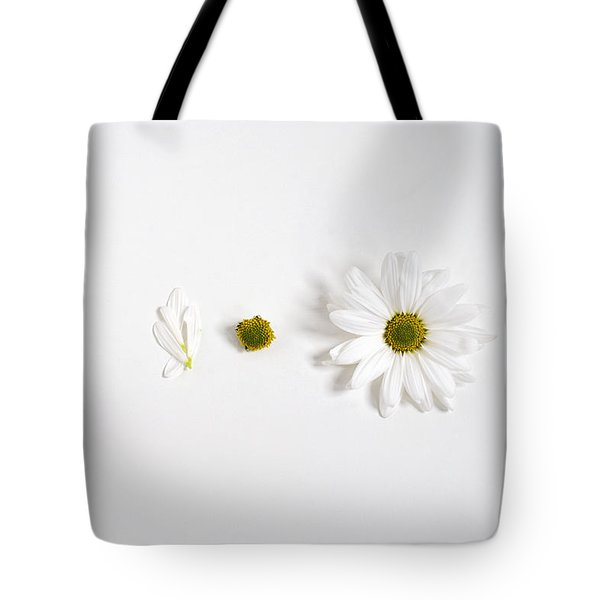 Parts Of A Shasta Daisy Tote Bag