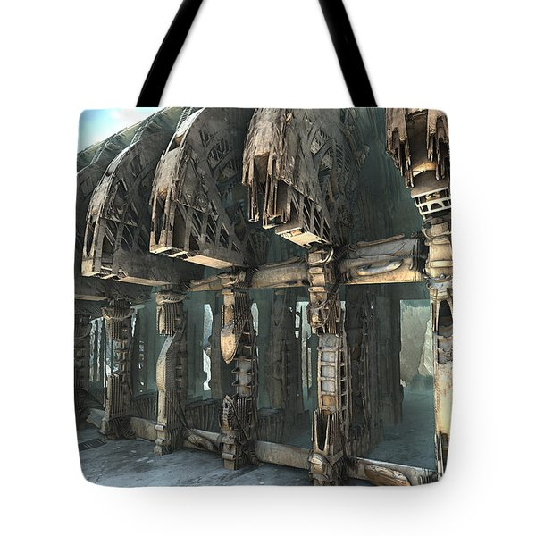 Parts Unknown Tote Bag