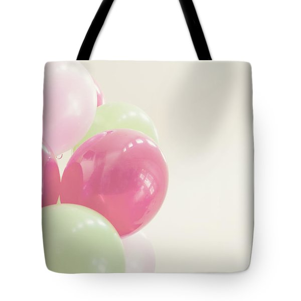 Party Balloons Tote Bag