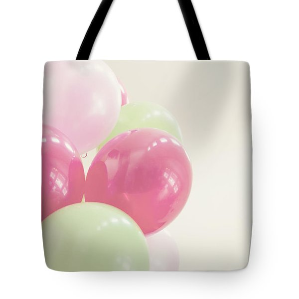Party Balloons Tote Bag by Cindy Garber Iverson