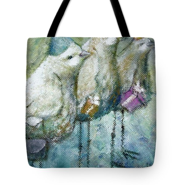 Party Birds Tote Bag