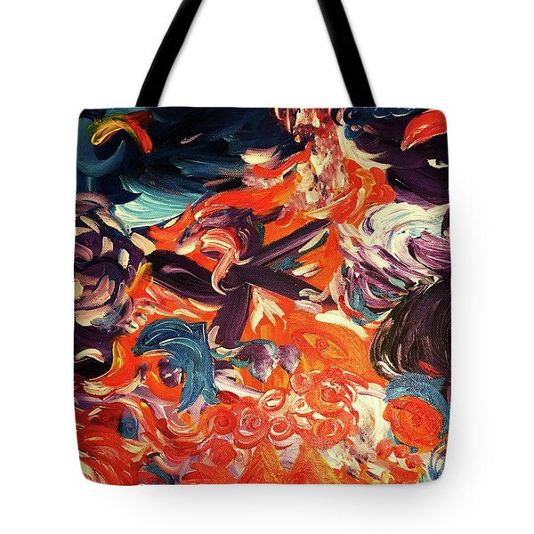 Party In A Parallel Reality Tote Bag