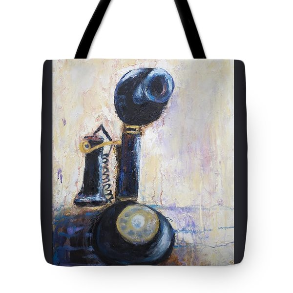 Party Line I Tote Bag