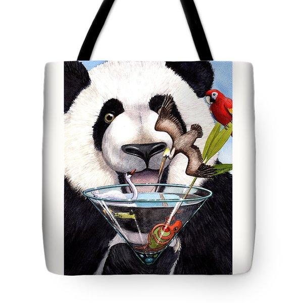 Party Panda Tote Bag