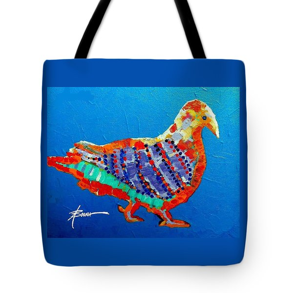 Party Pigeon Tote Bag