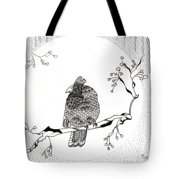 Party Time In Birdville Tote Bag