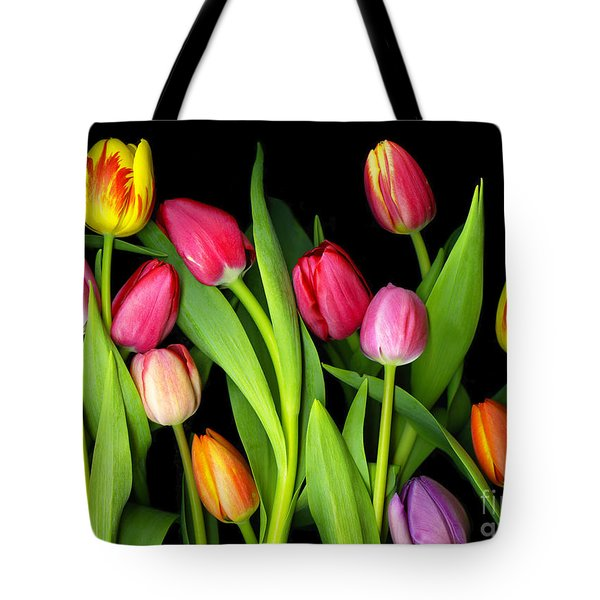 Tulips Tote Bag by Christian Slanec