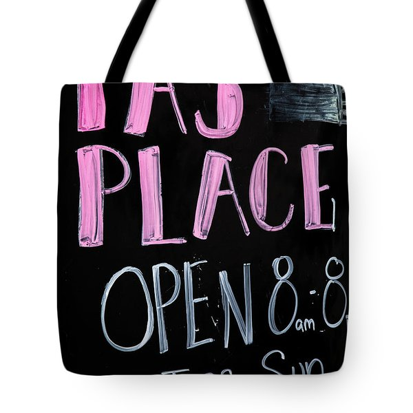 Tote Bag featuring the photograph Pa's Place by Karol Livote
