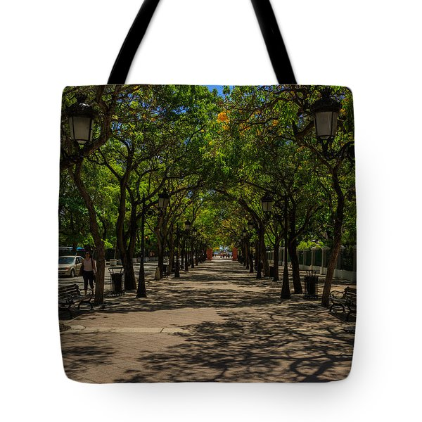 Paseo De La Princesa Tote Bag by Jose Oquendo
