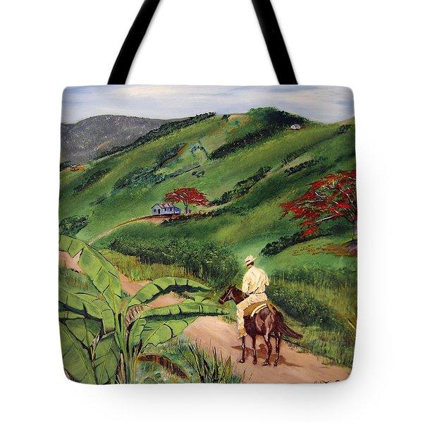 Paseo Por El Campo Tote Bag