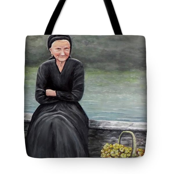 Pasqualina Di Scanno Tote Bag by Judy Kirouac