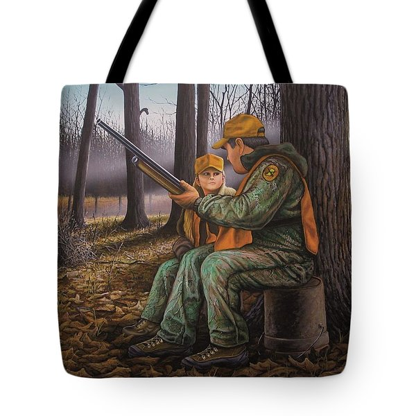 Pass It On - Hunting Tote Bag