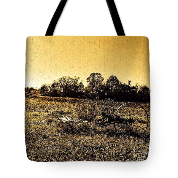 Past It's Time Tote Bag