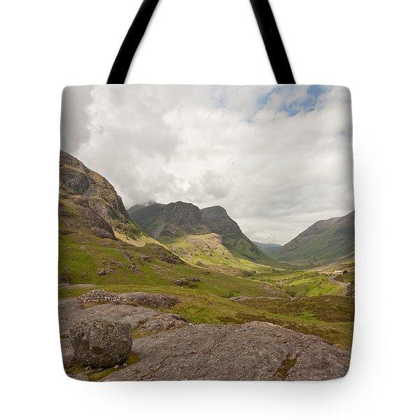 Pass Of Glencoe Tote Bag