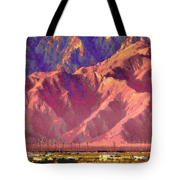 Pass Windmills Tote Bag