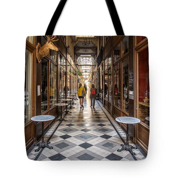 Passage Du Grand Cerf Tote Bag