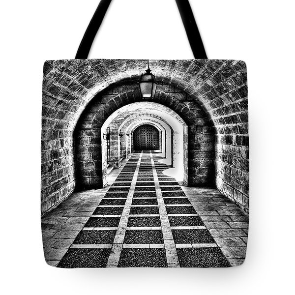 Passage, La Seu, Palma De Tote Bag by John Edwards