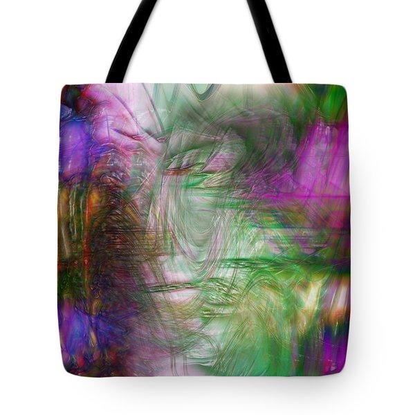 Passage Through Life Tote Bag by Linda Sannuti