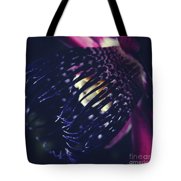 Passiflora Alata - Winged Stem Passion Flower - Ruby Star - Ouva Tote Bag by Sharon Mau