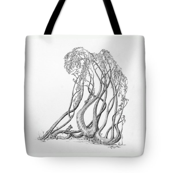 Passing Glances Tote Bag by Mark Johnson