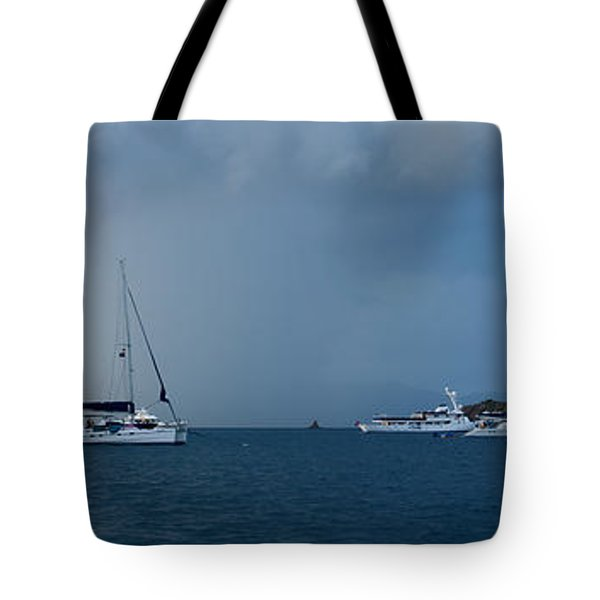 Passing Storm Tote Bag by Adam Romanowicz