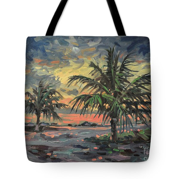 Passing Storm Tote Bag by Donald Maier