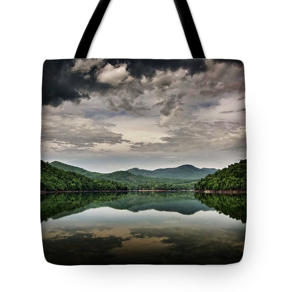 Passing Storm Over Lake Hiwassee Tote Bag