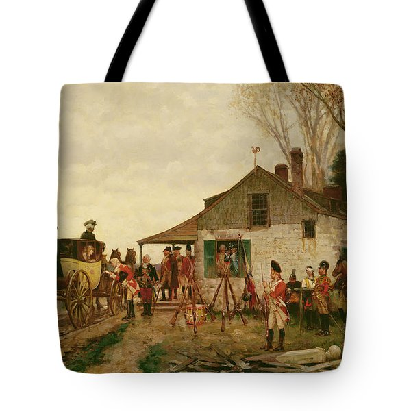 Passing The Outpost Tote Bag