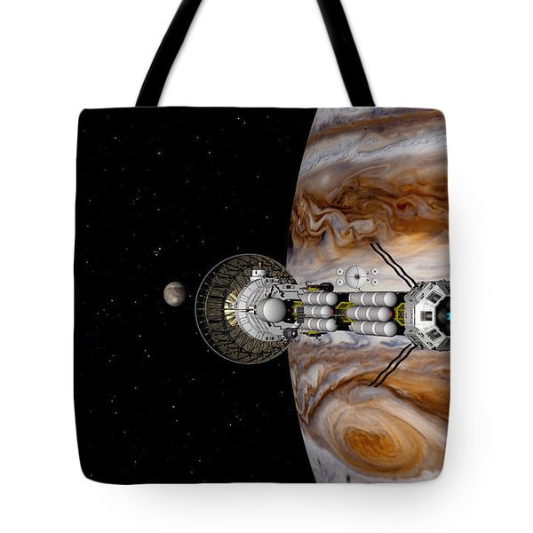 Tote Bag featuring the digital art Passing The Storm by David Robinson