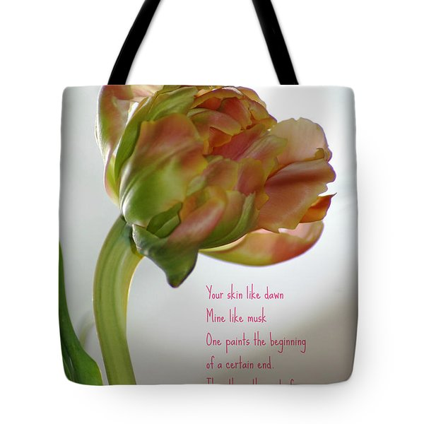 Tote Bag featuring the photograph Passing  Time by Donna Bentley