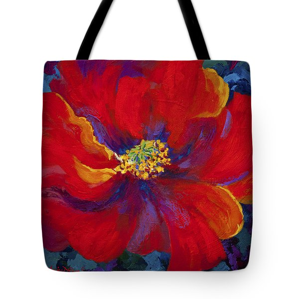 Passion - Red Poppy Tote Bag