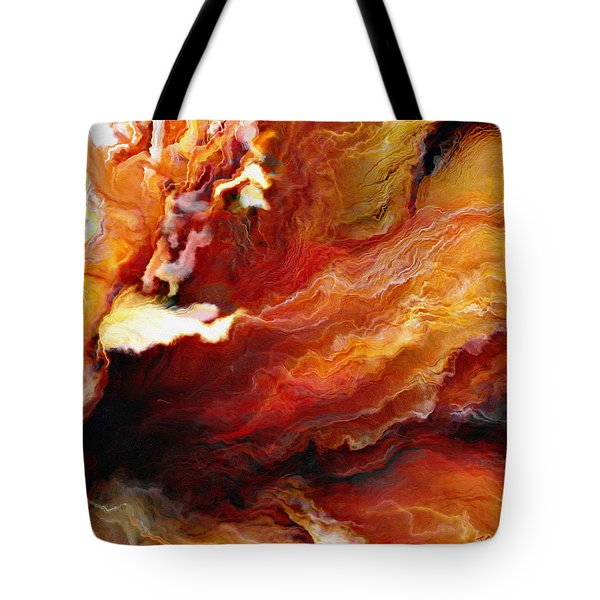 Passion - Abstract Art - Triptych 3 Of 3 Tote Bag