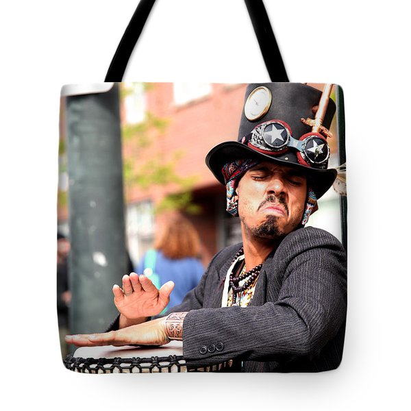 Passion Drummer Tote Bag