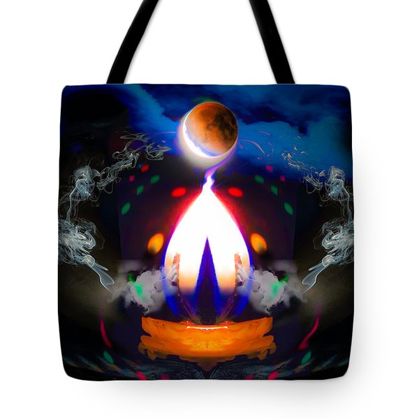 Tote Bag featuring the photograph Passion Eclipsed by Glenn Feron