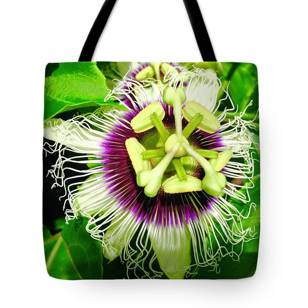 Passion Flower 1 Tote Bag