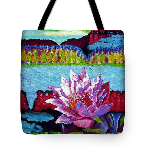 Passion For Light And Color Tote Bag by John Lautermilch