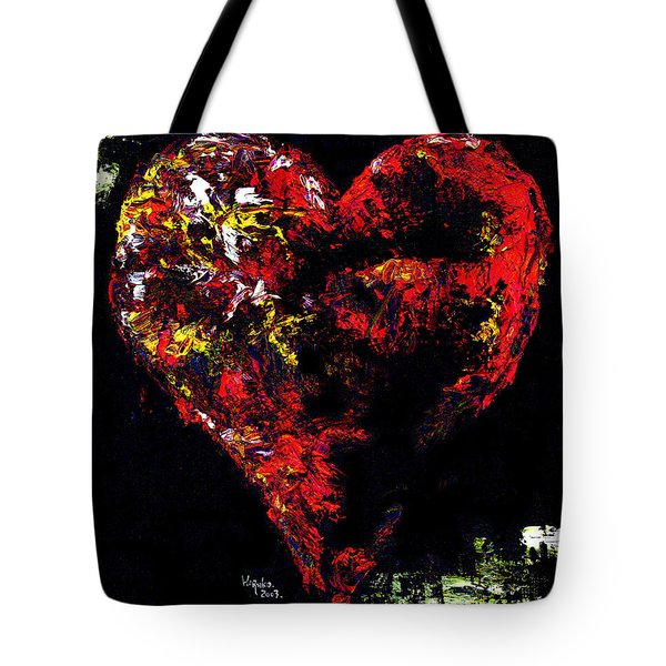 Tote Bag featuring the painting Passion by Hiroko Sakai
