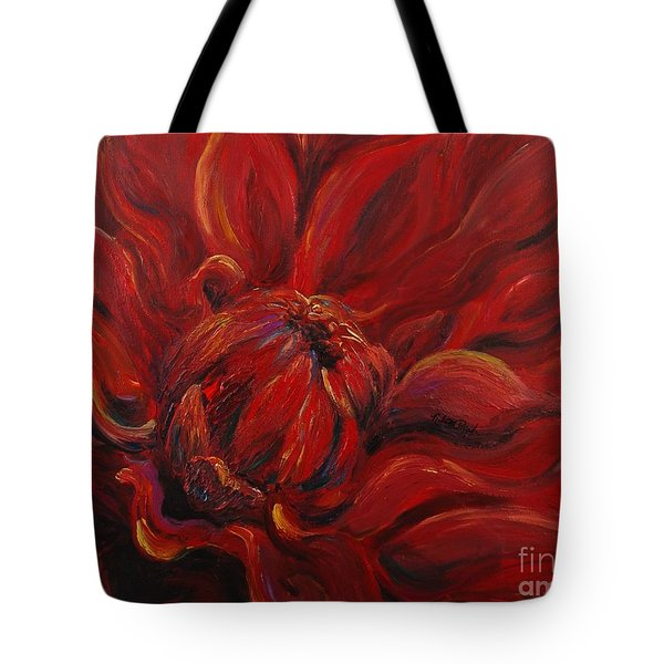 Passion II Tote Bag by Nadine Rippelmeyer