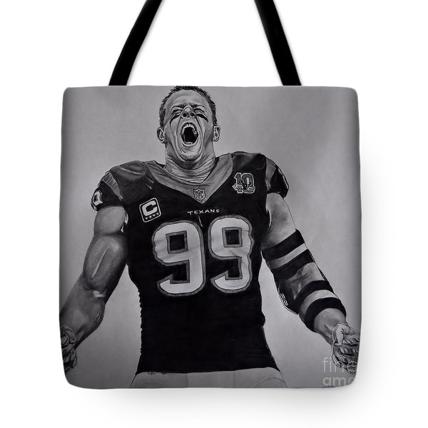 Tote Bag featuring the drawing Passion by Melissa Goodrich