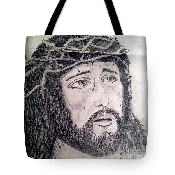 Passion Of Christ Tote Bag