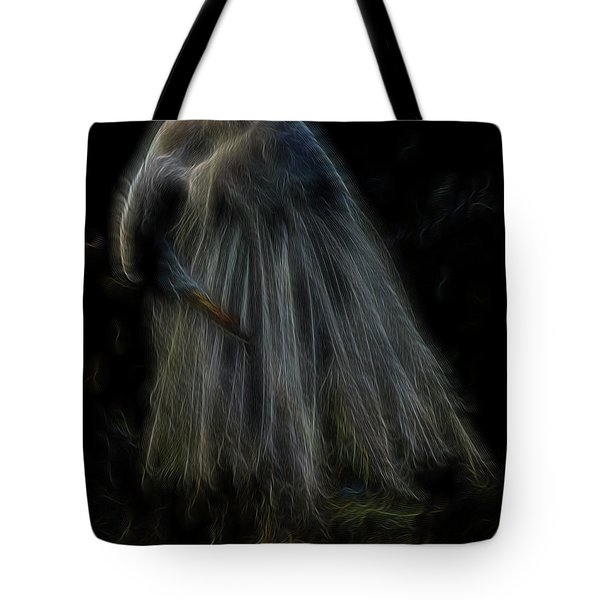 Passion Of Prayer Tote Bag by William Horden