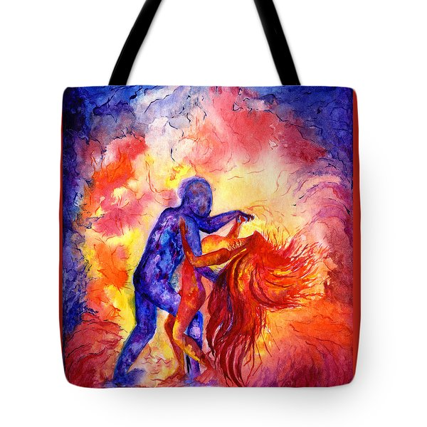 Passion On The Dance Floor Tote Bag